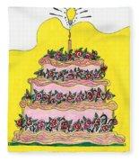 Dream Cake Fleece Blanket