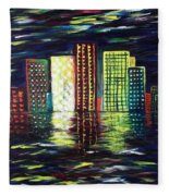 Dream City Fleece Blanket