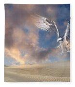 Dream Hawk Fleece Blanket