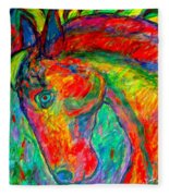 Dream Horse Fleece Blanket