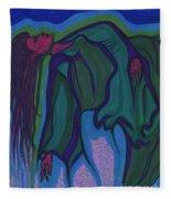 Dream In Color 1 By Jrr Fleece Blanket