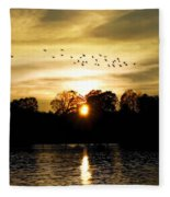Dream Of A Sunset Fleece Blanket