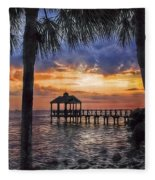 Dream Pier Fleece Blanket