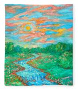 Dream River Fleece Blanket