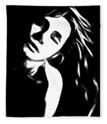 Dreaming Girl Fleece Blanket