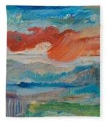 Dreaming Color Fleece Blanket