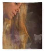 Dreaming... Fleece Blanket