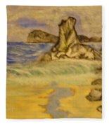 Dreaming Of Beaches Fleece Blanket
