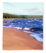 Dreaming Of Lake Superior Fleece Blanket