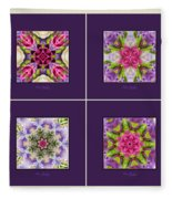 Dreaming Of My Garden Group 1 Fleece Blanket