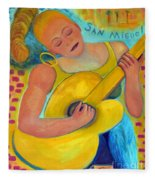 Dreaming Of San Miguel By Karen E. Francis Fleece Blanket
