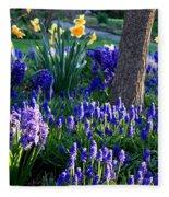 Dreaming Of Spring Fleece Blanket