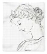 Dreaming Of The Dance Fleece Blanket