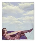 Dreaming To Fly Fleece Blanket