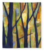 Dreaming Trees 2 Fleece Blanket