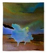 Dreams Of Blue Trees Fleece Blanket