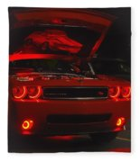 Dreams Of Red Seduction Fleece Blanket