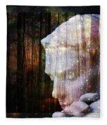 Of Lucid Dreams / Dreamscape 4 Fleece Blanket