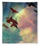 Of Lucid Dreams / Dreamscape 6 Fleece Blanket