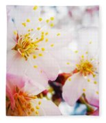 Dreamy Blossom Fleece Blanket