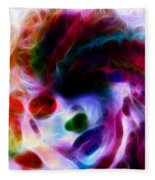 Dreamy Face Fleece Blanket