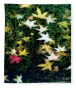 Dreamy Pond Fleece Blanket