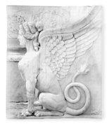 Dreamy Sphinx Fleece Blanket