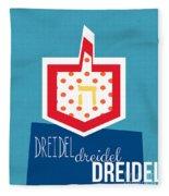Dreidels Fleece Blanket
