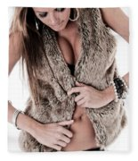 Dress Sexy Fleece Blanket
