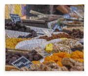 Dried Fruits Fleece Blanket