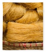 Dried Rice Noodles 04 Fleece Blanket