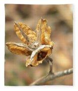 Dried Seed Fleece Blanket