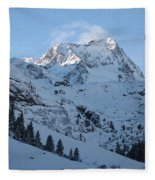 Drifting Snow Fleece Blanket