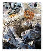 Driftwood Abstract Fleece Blanket
