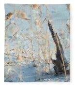 Driftwood Abstract Fleece Blanket