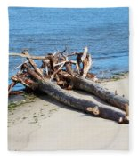 Driftwood Fleece Blanket