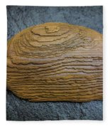 Driftwood On Slate Fleece Blanket