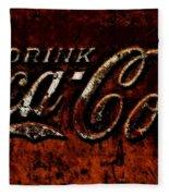 Drink Coca Cola Fleece Blanket