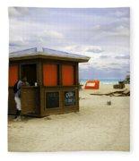 Drink Of The Day - Miami Beach - Florida Fleece Blanket