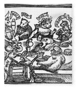 Drinking Party, 1516 Fleece Blanket