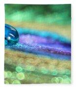 Drop Of Illusion Fleece Blanket
