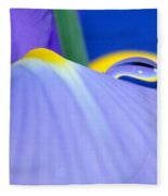 Drop Of Spring Fleece Blanket