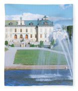 Drottningholm Palace, Stockholm, Sweden Fleece Blanket
