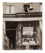 Drugstore, 1890 Fleece Blanket