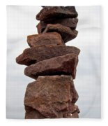 Druid Cairn  Fleece Blanket