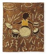 Drummer Fleece Blanket