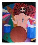 Drummer Fleece Blanket