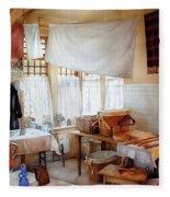 Dry Cleaner - The Laundry Room Fleece Blanket
