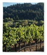 Dry Creek Road Vineyard Fleece Blanket