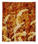 Dry Grass Fleece Blanket